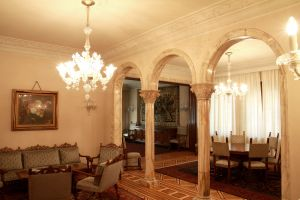 interior of Ceausescu's private vila