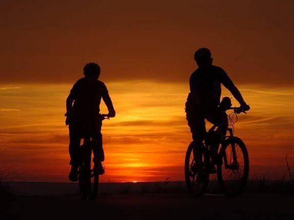 biker in Dealu Mare