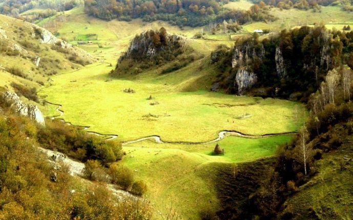 The beautiful region of Hunedoara