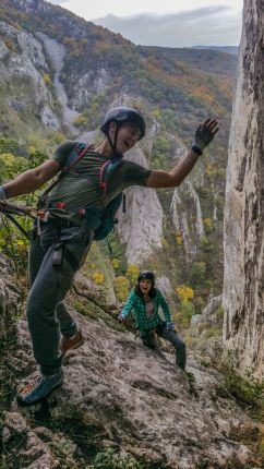 Via Ferrata Turda Gorge Tour