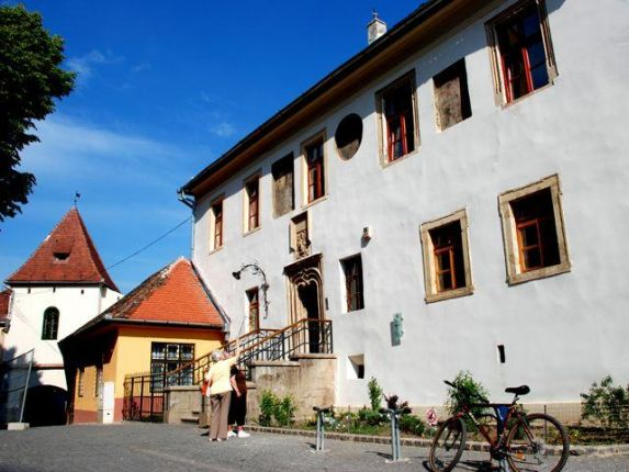 The Huet Square in Sibiu