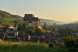 The 500 year old fortified church of Biertan