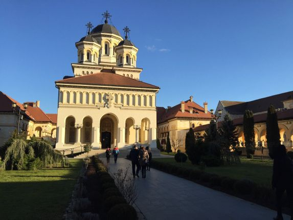 The Alba Iulia Orthodox Cathedral where in 1918 Carol I became King of Great Romania