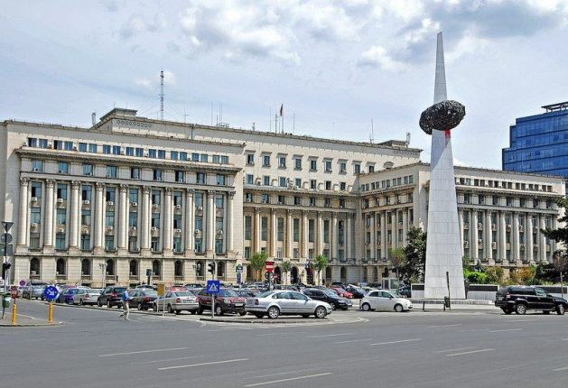 Revolution Square Bucharest