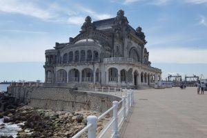 City of Constanta and the Black Sea