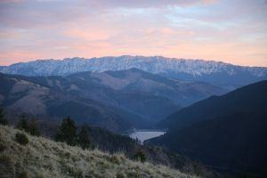 Approaching Fagaras Mountains. and the wild