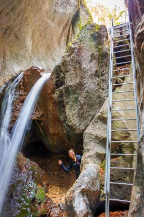 7 ladders Canyon tour