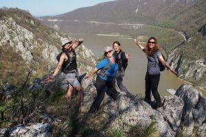 Hike to admire Danube Gorge from above