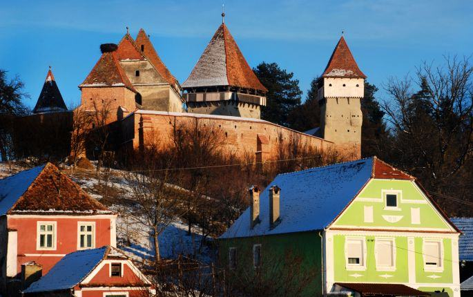 Tour in Transylvania fortified villages