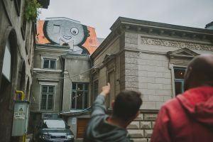 Look for street art & hip urban spots