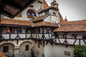 Fortress in the mountains: Bran Castle