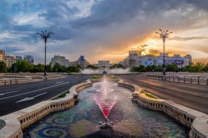 Panoramic tour of Bucharest