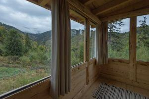 Amazing views from the cabin