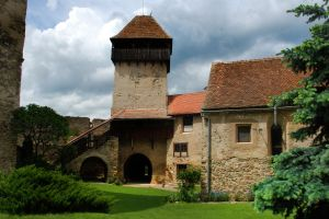 The fortified church in Calnic, a UNESCO heritage monument