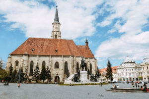 St. Michael church, Unirii Square
