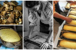 Making cozonaci - a laborious process with delicious results
