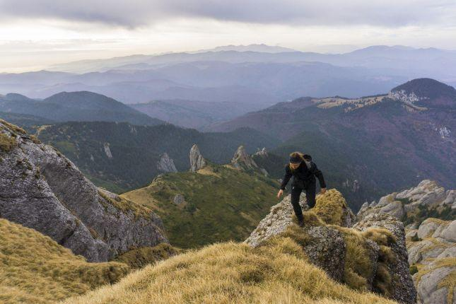 Carpathian Mountains hike