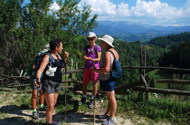 Trekking tour in the Carpathians