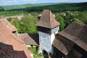 Viscri fortified church tour
