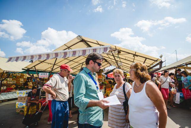 Street food tour Sibiu