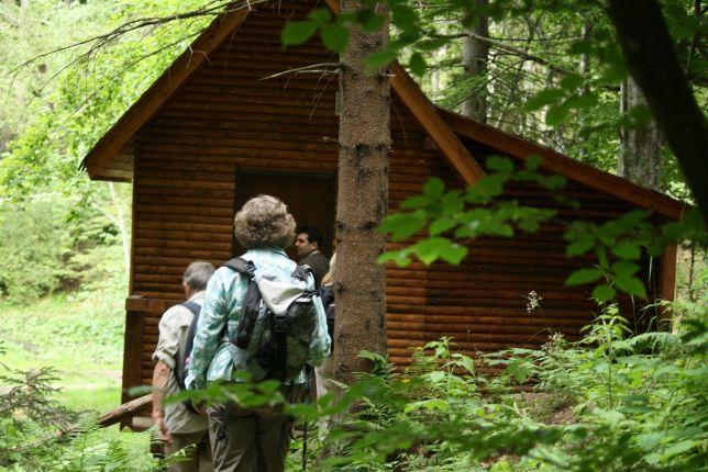 bear hide entrance