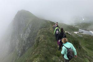 The ridges of Fagaras Mts.