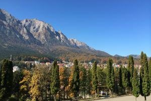 View from Cantacuzino Castle