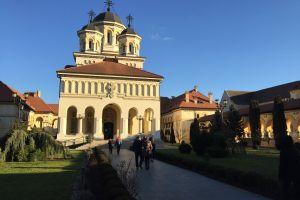 Alba Iulia Fortress from Sibiu
