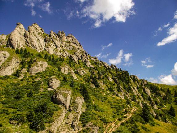 Carpathian Mountains hike