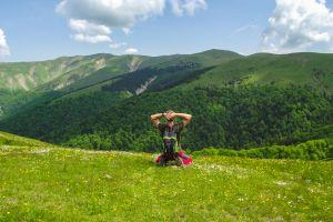 Hiking in the Carpathian Mountains
