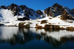 Glacier Balea Lake