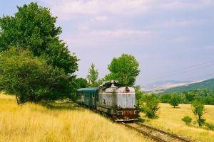 A scenic train ride