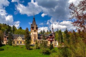 [alternative] The royal Peles Castle