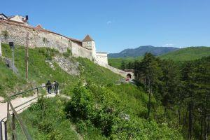 Rasnov Fortress: a refuge for villagers