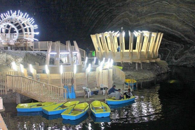 Cluj Salt Mine Tour