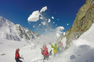 Safety first - avalanche training course